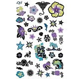 GIRLIE GIRLZ Glow In The Dark Tattoo Sticker [TM 3338-004] - Sticker